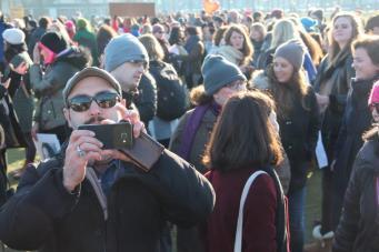vrouwen demo den haag 090