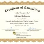 Forensic Image Authentication Mike Primeau