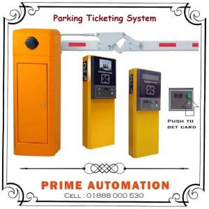 Car Parking Auto Payment Ticketing System