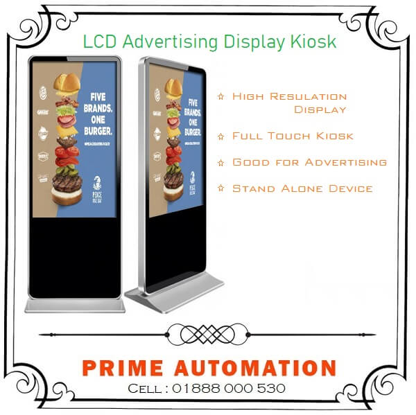 LCD Advertising Digital Display Kiosk
