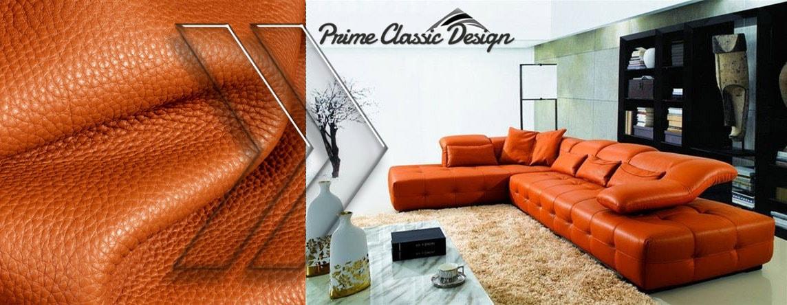 Top Grain Italian Leather custom colors Shop modern
