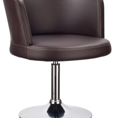 Swivel Base For Chairs Replacement Parts Rocking Chair With Cushions Modern Brown Leatherette Lounge Houston