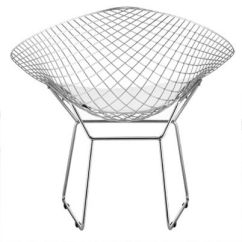Steel Net Chair Grey Velvet Solid In Black Or White With Leatherette Cushion Larger Image