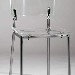 Clear Acrylic Chair Brown Office Without Arms Side With Seat And Back Metal Frame Bakersfield California Chacrylic