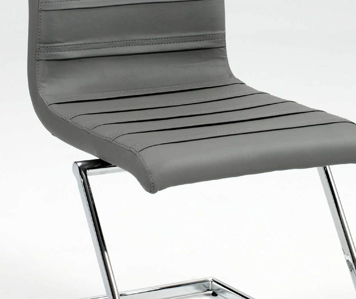 z shaped high chair all weather wicker dining chairs contemporary dark grey leather with chrome