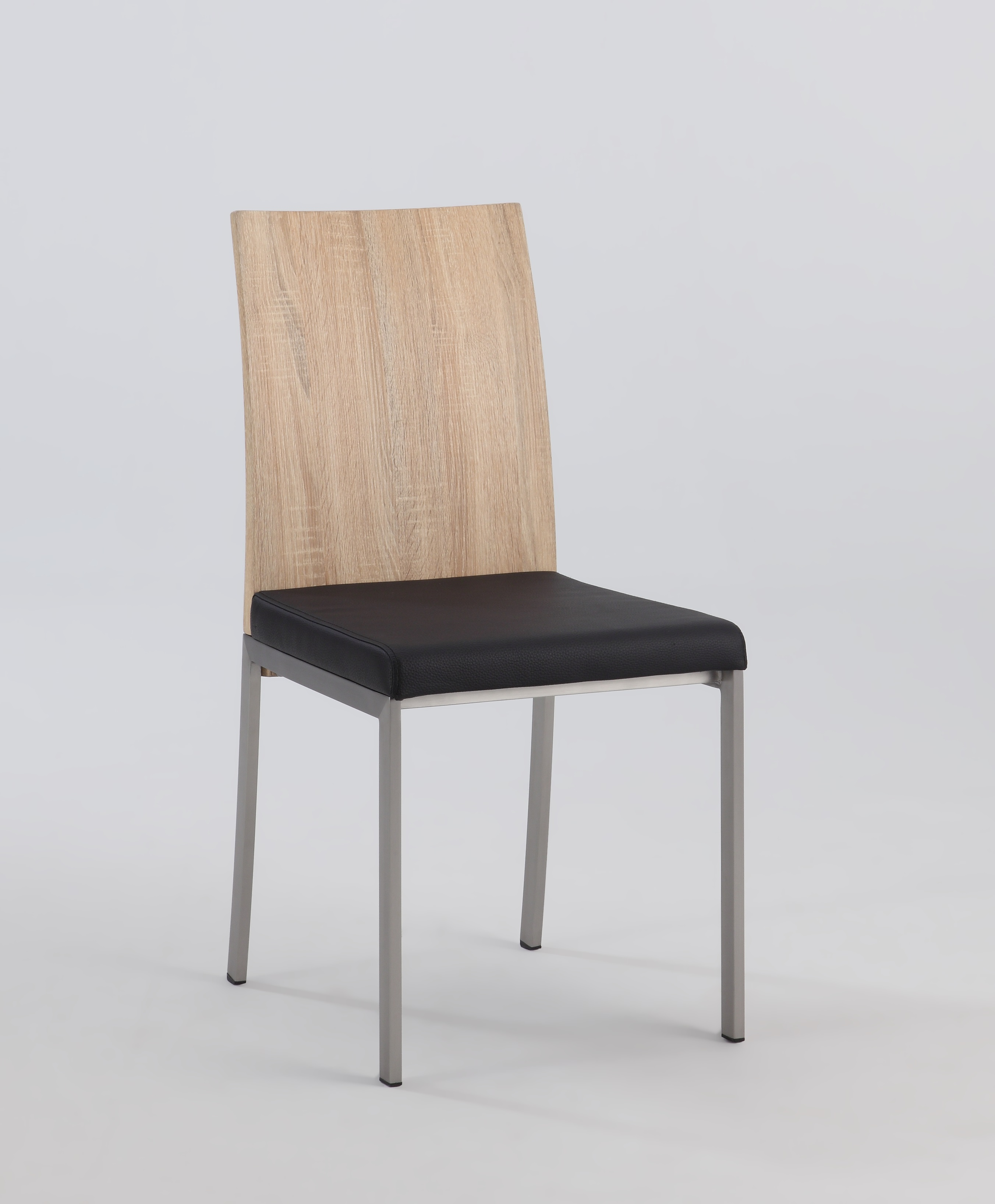 chair with light cover rental austin tx oak panel back side black upholstered