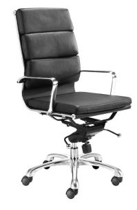 Director Office Chair with High Back and Leatherette Seat ...