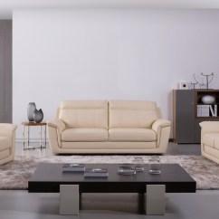 3 Piece Sofa Set For Sale Slipcovers Three Cushion Genuine Italian Leather Beige