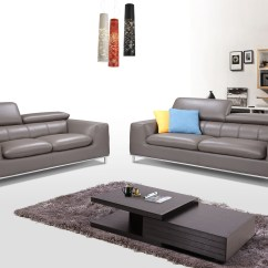 Living Room Furniture Sets Austin Tx Small Feature Wall Ideas Modern Three Piece Light Gray Leather Set Texas Genuine And Italian Designer Sofas