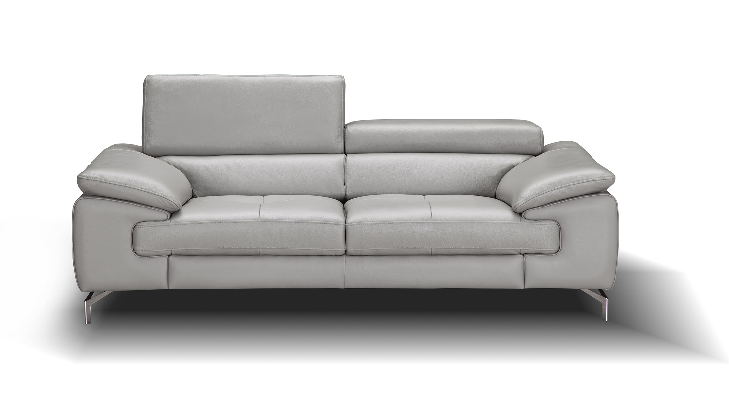 j m paquet sofa bergamo grey sectional leather trendy and loveseat in premium detroit