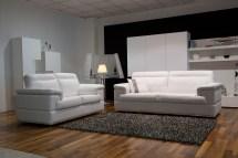 contemporary leather sofa set
