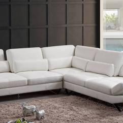 Italian Sectional Sofas Leather Gray Modern Sofa Advanced Adjustable Living Room Furniture ...
