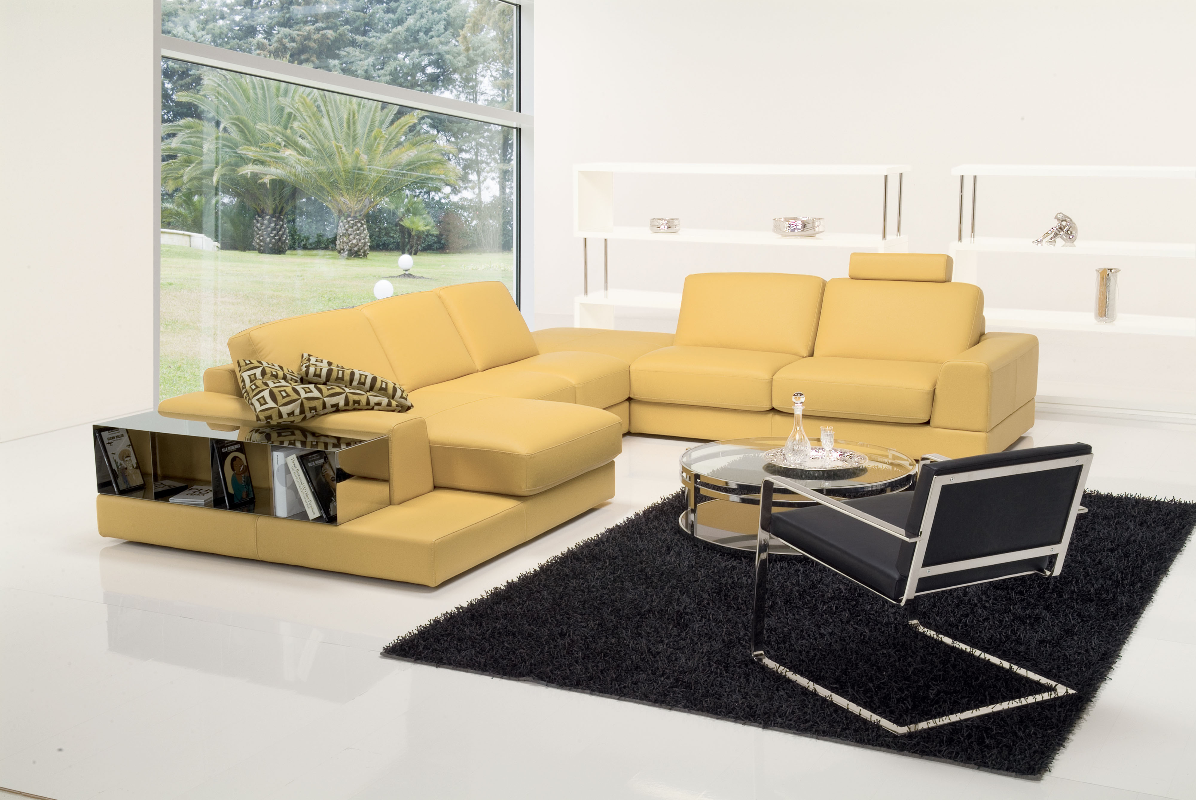 leather corner sofa spain doctor nz fashionable covered in all sectional stockton