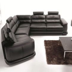 Sofa Beds Spain Southern Motion 875 Contemporary Sectional Sleeper In Italian Leather San
