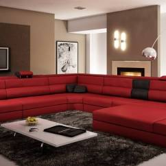 Polaris Sofa Furniture Loft Bed With And Desk Extra Large Contemporary Sectional In Copper End ...