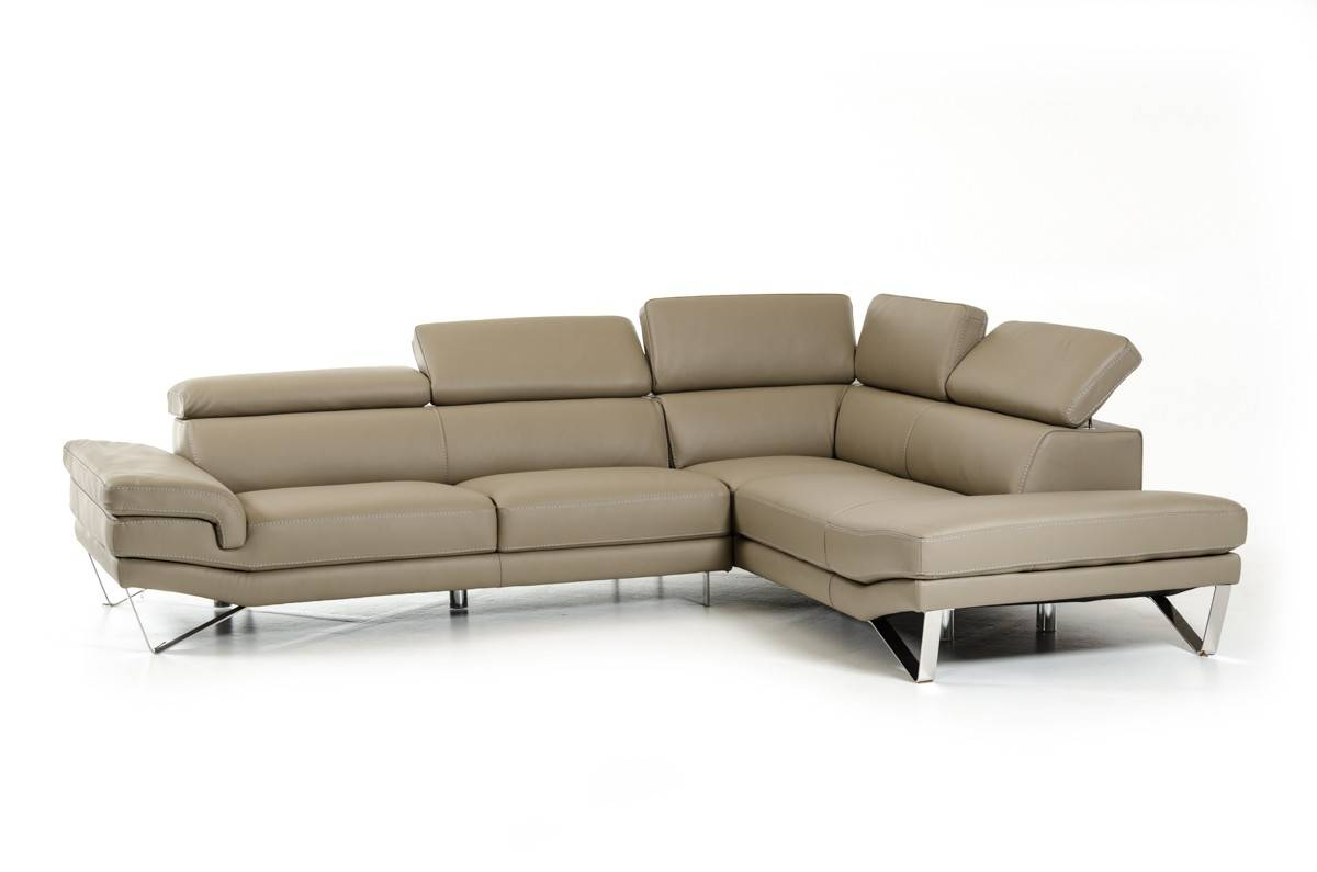 lusso horizon modern grey fabric leather sectional sofa showrooms exquisite full italian l shape furniture los