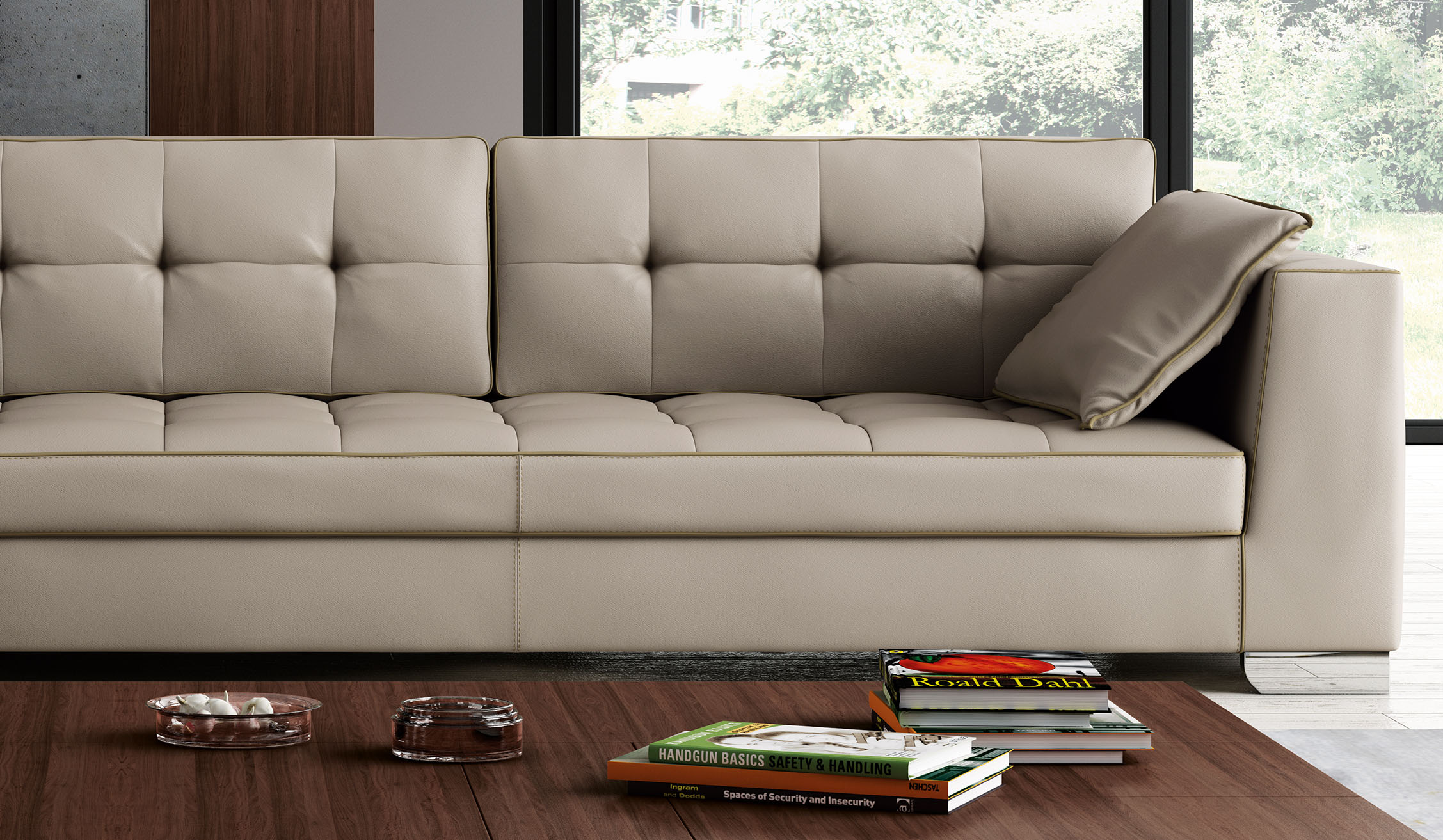 large square sofa cushions swing india uk luxury tufted designer all leather sectional chesapeake