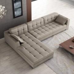 Large Square Sofa Cushions Sb Pantip Luxury Tufted Designer All Leather Sectional Chesapeake