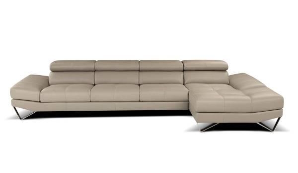 Italian Leather Sectional Sofa