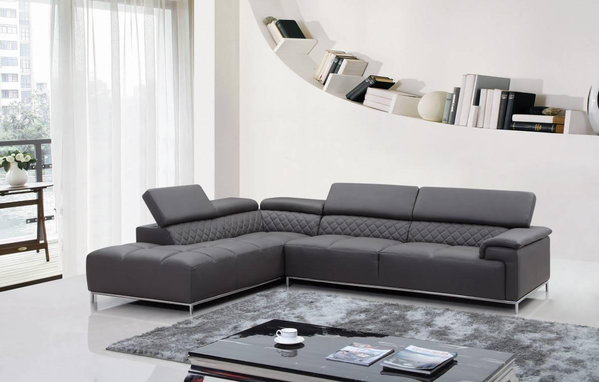elegant full italian leather sectionals