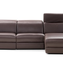 Beige And Brown Leather Sectional Sofa With Built In Footrests Armrest Cup Holder Lounge Style Contemporary Sectionals Set Baltimore