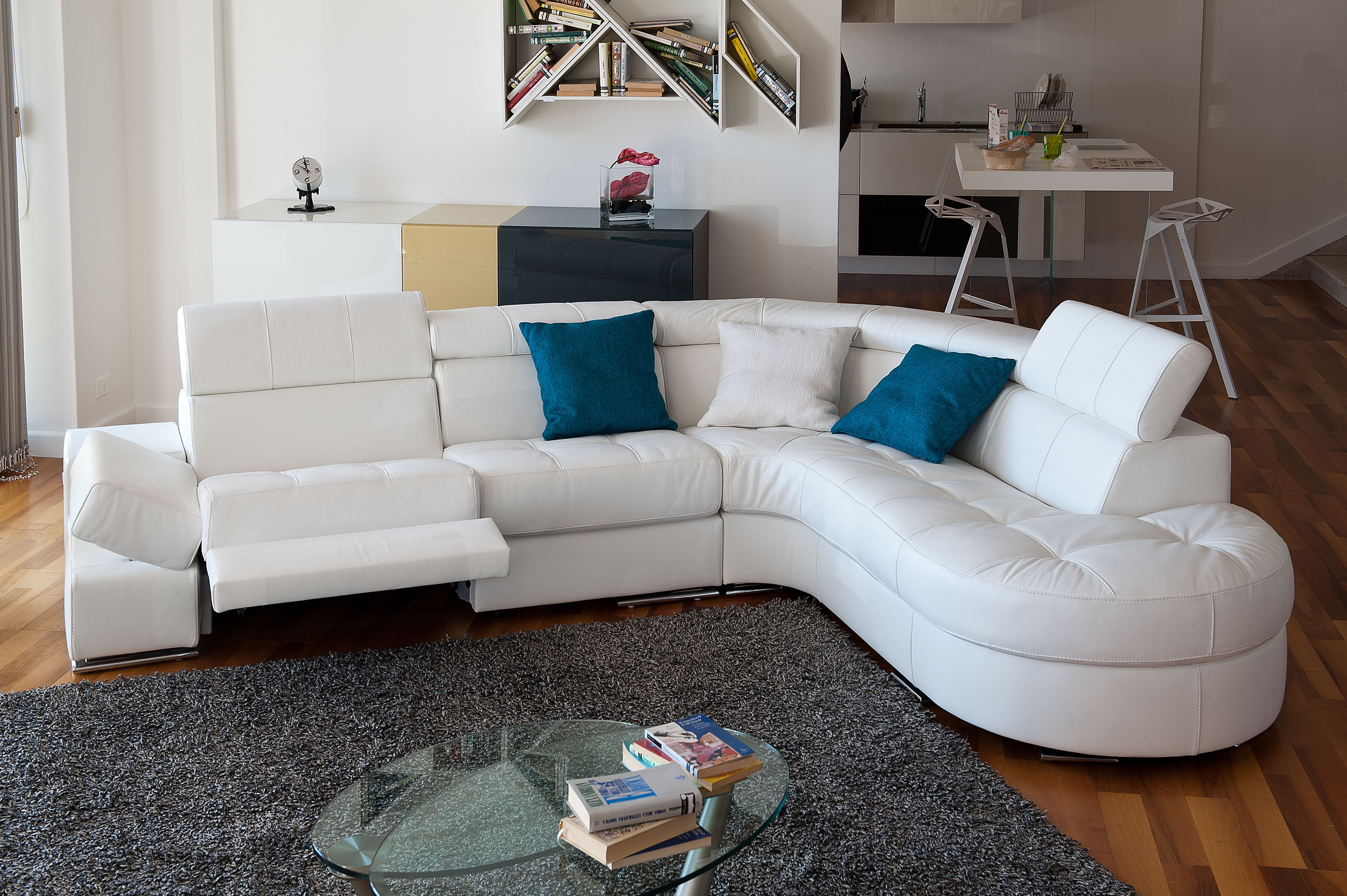 angled sectional sofa set below 50000 elegant curved in leather moreno valley