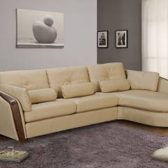Wooden Sectional Sofa Sofas Uk Dfs Taupe Bonded Leather With Ash Wood Accent