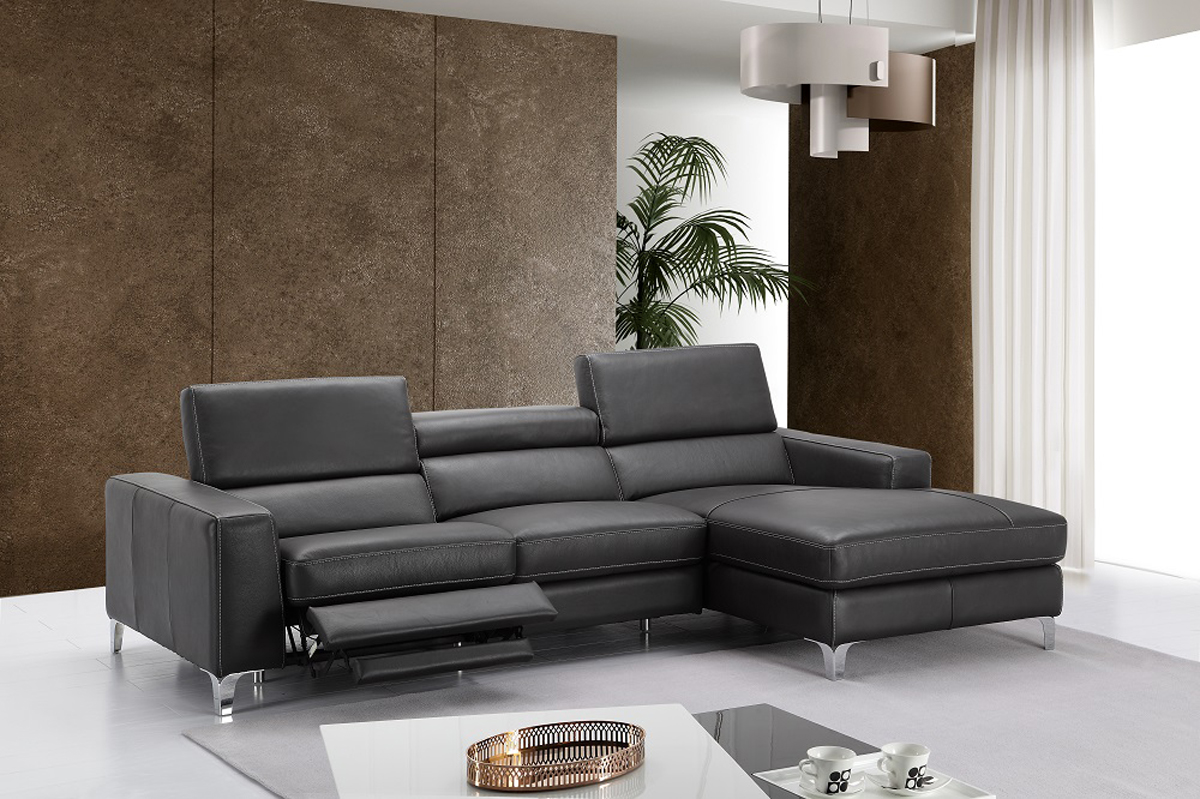 Highclass All Italian Leather Sectional Sofa Anchorage