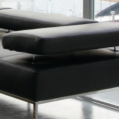 Genuine Leather Sectional Sofa With Chaise Nail Head Trim Fashionable