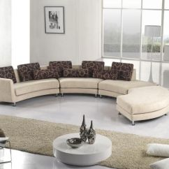 Circular Couches Living Room Furniture Modern Decorating Ideas For Small Rooms Fabric Sectional Sofas. Sleeper L Shape Corner Couches.
