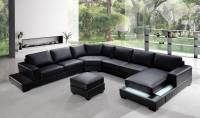 Elegant Italian Leather Living Room Furniture Long Beach ...