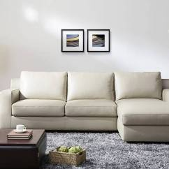 Really Small Corner Sofas Leather In San Diego Refined Modern L Shape Sectional Santa Rosa
