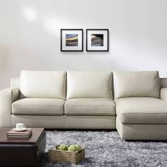 Very Large Sectional Sofas Phoenix Sofa Refined Modern Leather L Shape Santa Rosa