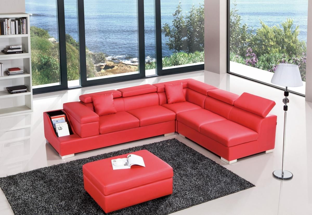 customize your sectional sofa newport fabric convertible bed reviews red color upholstered in high quality leather austin genuine and italian corner sofas