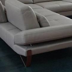 Armless White Leather Sofa Sage Microfiber Set Advanced Adjustable Designer Full Italian Sectional ...