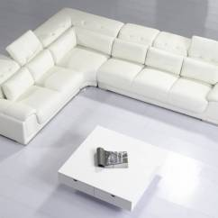 Modern Sectional Sofa With Recliner L Shaped Cushion Covers Online Stylish And Comfortable In Italian Leather ...
