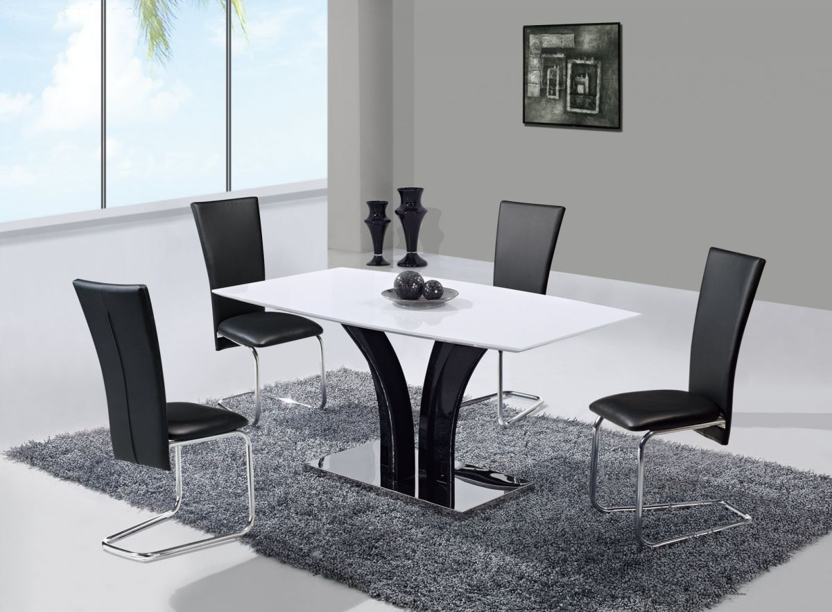 glass kitchen table and chairs desk chair on hardwood extendable frosted top leather designer