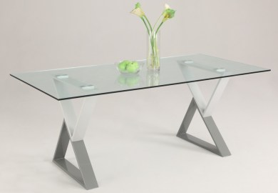 Modern Glass Kitchen Tables