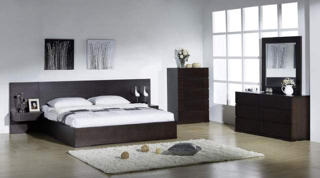 Elegant Quality Modern Bedroom Sets with Extra Long ...