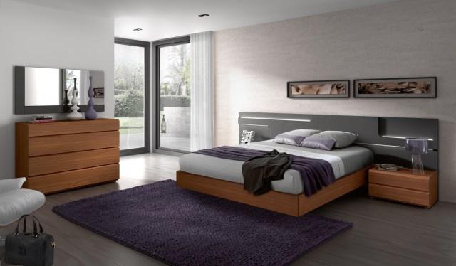 Made in Spain Wood Designer Bedroom Sets with Wide ...
