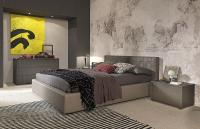 Made in Italy Leather Modern Design Bed Set Louisville ...