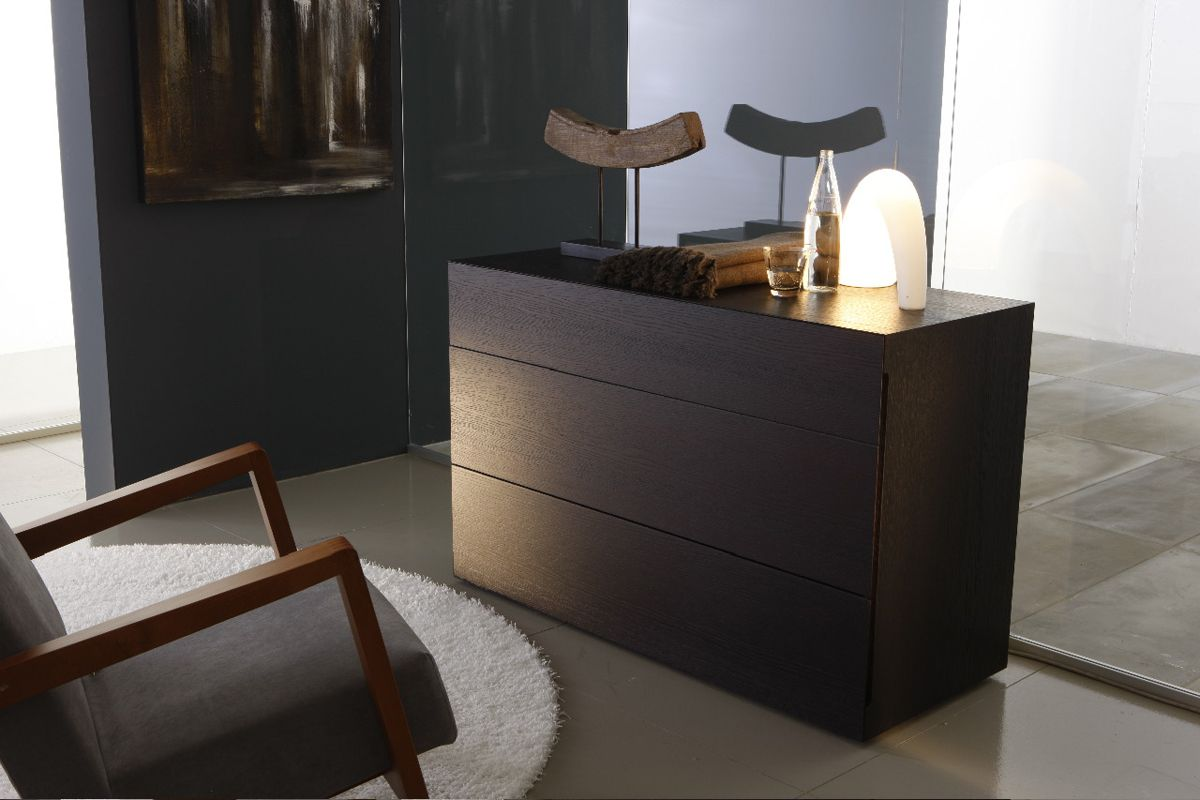 Made In Italy Leather Designer Bedroom Sets With Storage