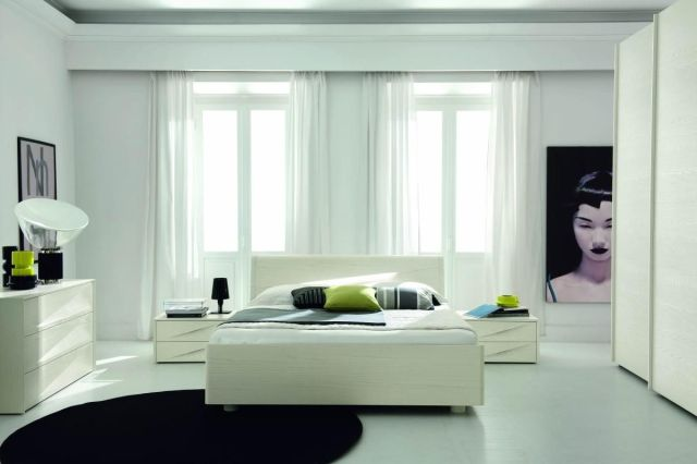 Made in Italy Wood Modern Master Bedroom Set with Extra ...