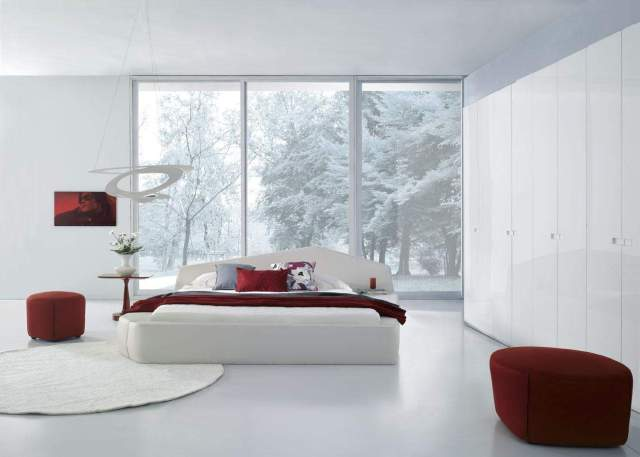 Unique Leather Modern Contemporary Bedroom Designs ...