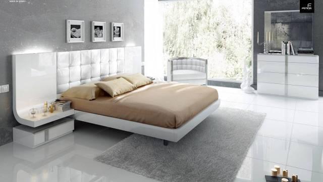 Stylish Wood Elite Modern Bedroom Set with Extra Storage ...