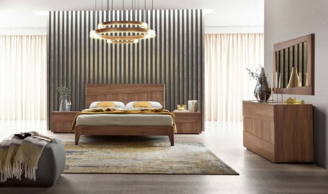 Made in Italy Wood Platform Bedroom Furniture Sets St ...