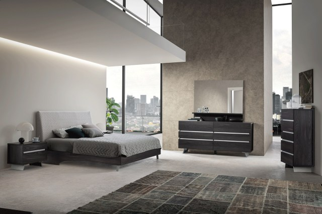 Made in Italy Wood Contemporary Bedroom Design Flint ...
