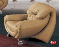 Contemporary Half Leather Armchair Massima Prime Classic ...