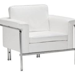 Leather Chrome Chair Etsy High Covers White Contemporary With Legs And Frame Columbus Lounge Chaises Daybeds Stylish Accessories