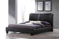 Refined Leather Modern Platform Bed Jacksonville Florida ...